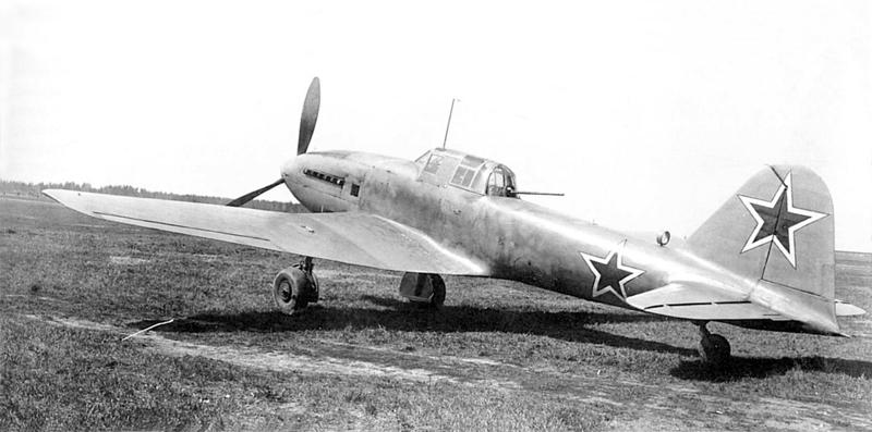 Самолет Ил-10